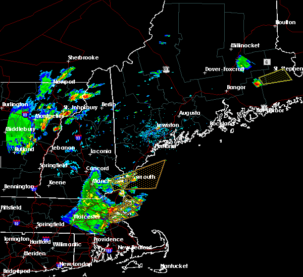 Radar Image for Severe Thunderstorms near Portsmouth, NH at 7/31/2019 4:14 PM EDT