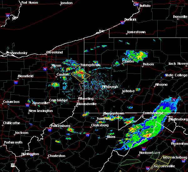 Radar Image for Severe Thunderstorms near New Waterford, OH at 7/31/2019 4:38 PM EDT