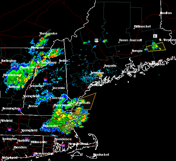 Radar Image for Severe Thunderstorms near Randolph, ME at 7/31/2019 4:44 PM EDT