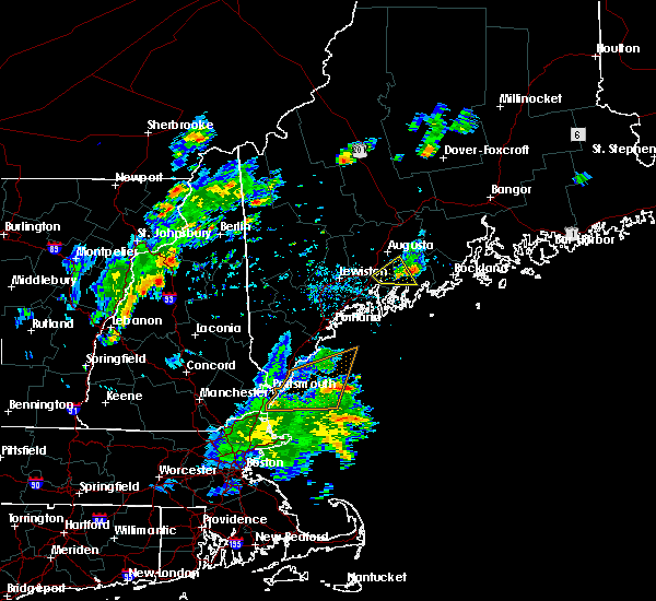 Radar Image for Severe Thunderstorms near Rockland, ME at 7/31/2019 5:38 PM EDT