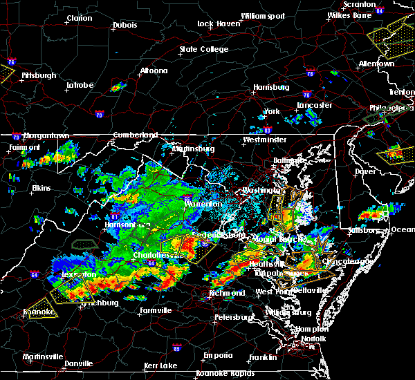 Radar Image for Severe Thunderstorms near Southern Gateway, VA at 7/31/2019 5:39 PM EDT