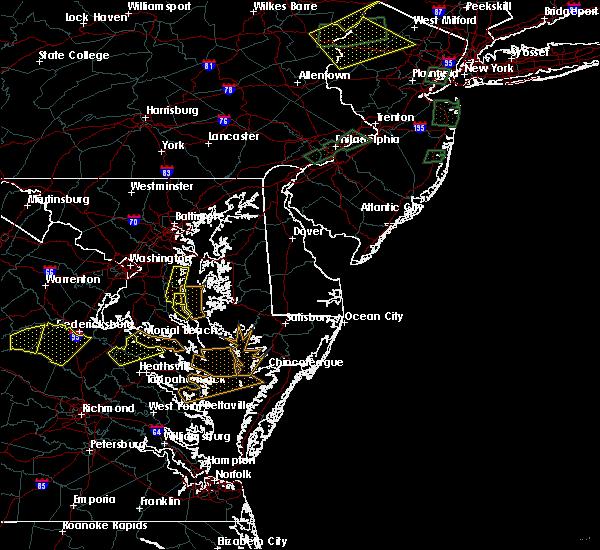 Radar Image for Severe Thunderstorms near Lexington Park, MD at 7/31/2019 6:24 PM EDT