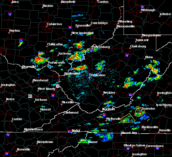 Radar Image for Severe Thunderstorms near Mason, OH at 8/1/2019 3:23 PM EDT