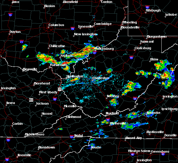 Radar Image for Severe Thunderstorms near Stewart, OH at 8/1/2019 4:22 PM EDT