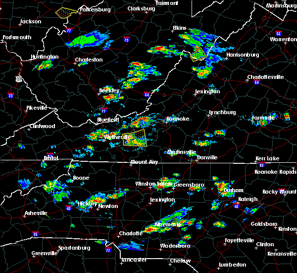 Radar Image for Severe Thunderstorms near Parrott, VA at 8/1/2019 4:33 PM EDT