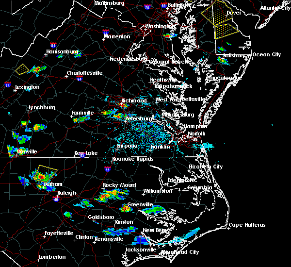 Radar Image for Severe Thunderstorms near Manchester, VA at 8/1/2019 4:54 PM EDT