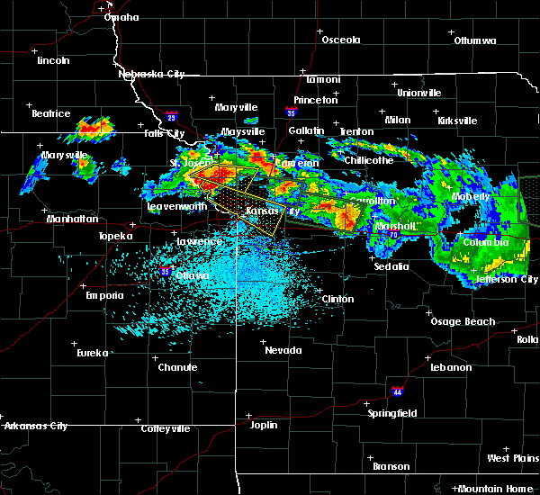 Radar Image for Severe Thunderstorms near Sibley, MO at 6/21/2015 1:04 PM CDT