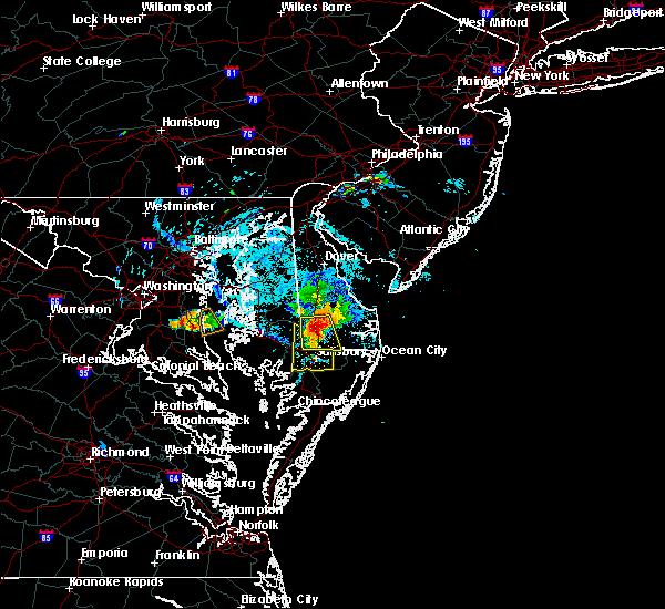Radar Image for Severe Thunderstorms near Laurel, DE at 8/1/2019 5:54 PM EDT