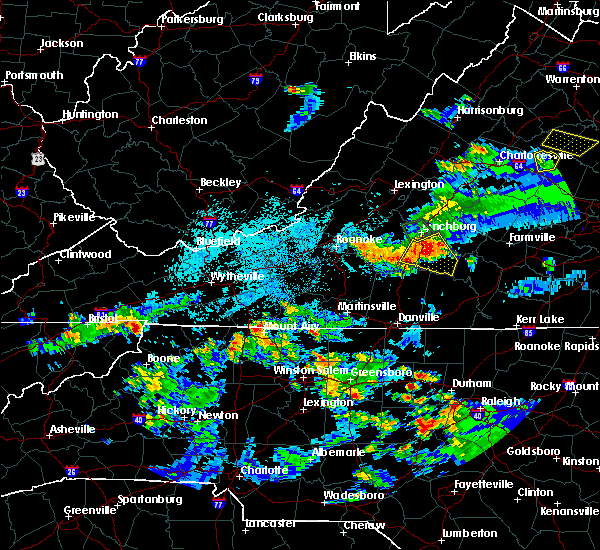 Radar Image for Severe Thunderstorms near Mountain City, TN at 8/1/2019 9:39 PM EDT