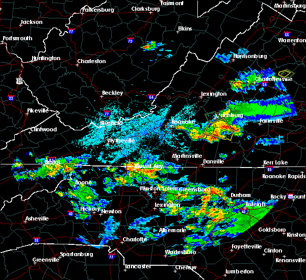 Radar Image for Severe Thunderstorms near Mountain City, TN at 8/1/2019 10:11 PM EDT