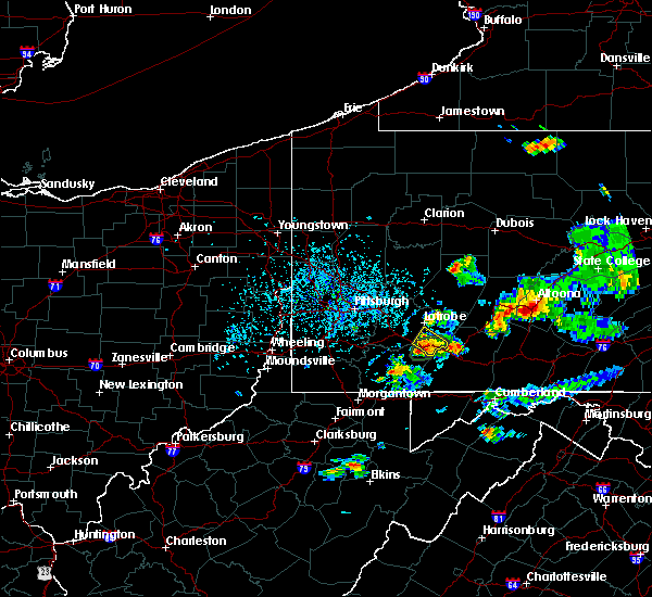 Radar Image for Severe Thunderstorms near Youngstown, PA at 8/2/2019 3:24 PM EDT