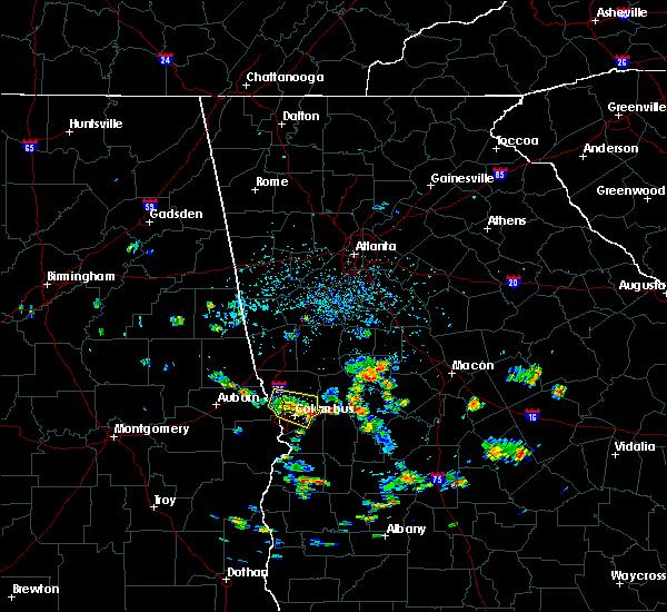 Radar Image for Severe Thunderstorms near Salem, GA at 6/21/2015 3:30 PM EDT