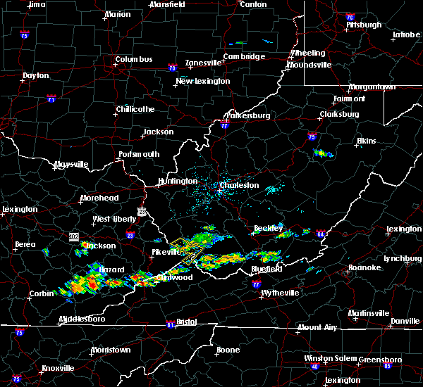 Radar Image for Severe Thunderstorms near Justice, WV at 6/21/2015 3:56 PM EDT