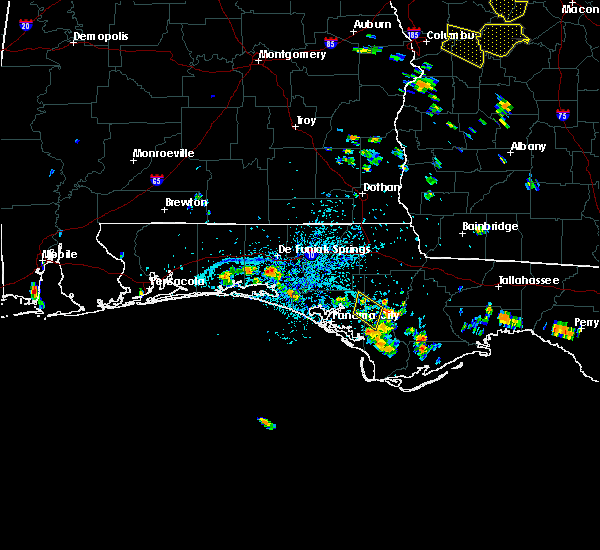 Radar Image for Severe Thunderstorms near Panama City, FL at 6/21/2015 2:58 PM CDT