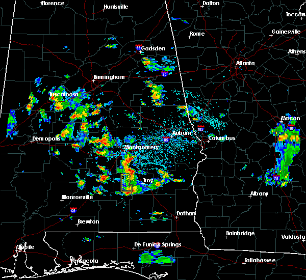 Radar Image for Severe Thunderstorms near Pike Road, AL at 8/4/2019 2:05 PM CDT