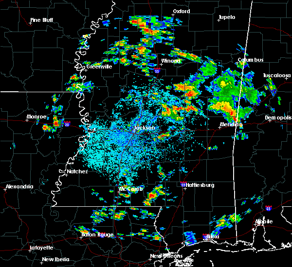 Radar Image for Severe Thunderstorms near Pearl River, MS at 8/4/2019 2:31 PM CDT