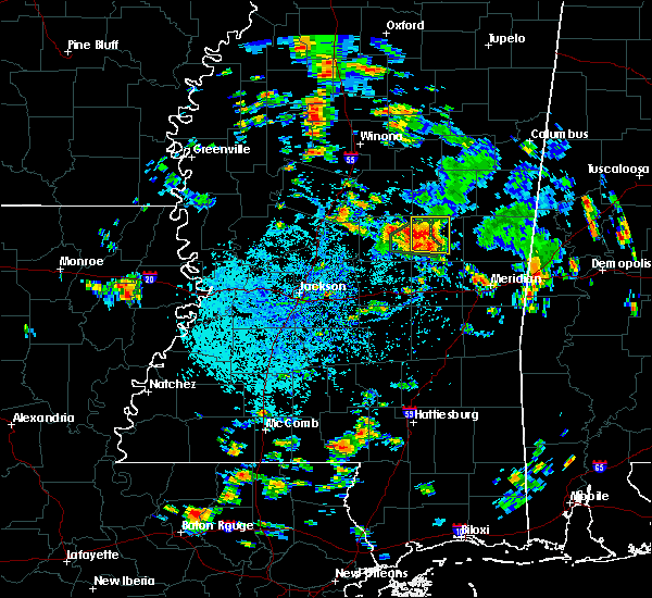 Radar Image for Severe Thunderstorms near Pearl River, MS at 8/4/2019 3:01 PM CDT