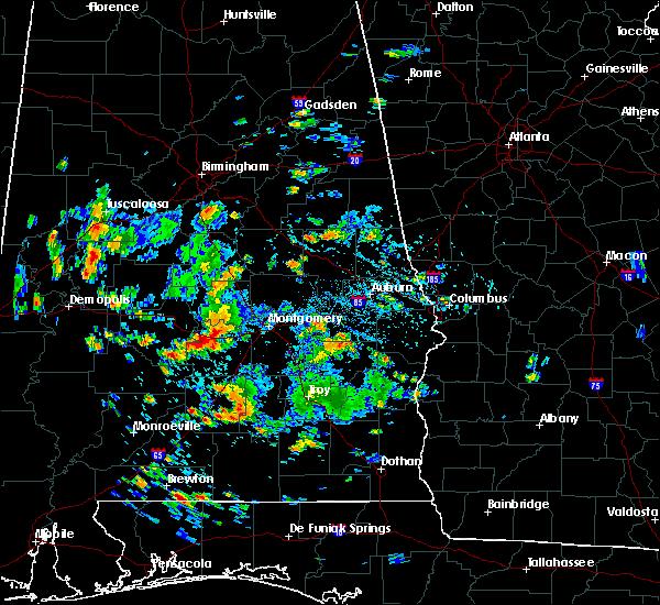 Radar Image for Severe Thunderstorms near Gordonville, AL at 8/4/2019 3:09 PM CDT