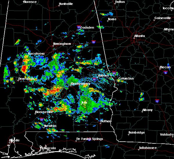 Radar Image for Severe Thunderstorms near Gordonville, AL at 8/4/2019 3:24 PM CDT