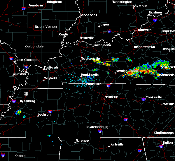 Radar Image for Severe Thunderstorms near Morgantown, KY at 6/21/2015 3:54 PM CDT
