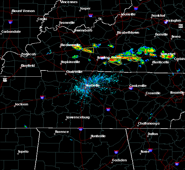 Radar Image for Severe Thunderstorms near Glasgow, KY at 6/21/2015 3:57 PM CDT