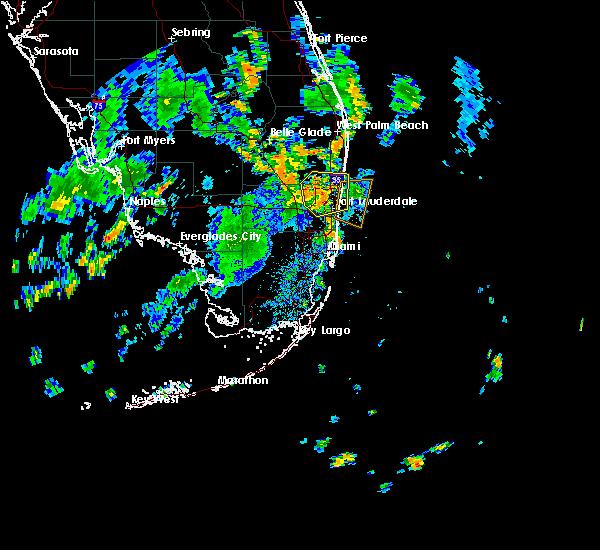 Interactive Hail Maps - Hail Map for Davie, FL