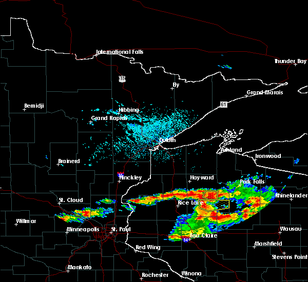Radar Image for Severe Thunderstorms near Bruce, WI at 8/5/2019 3:31 PM CDT