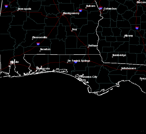 Radar Image for Severe Thunderstorms near Crestview, FL at 6/21/2015 4:17 PM CDT