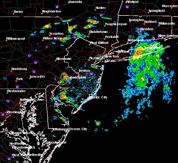 Radar Image for Severe Thunderstorms near Horsham, PA at 8/6/2019 1:00 PM EDT