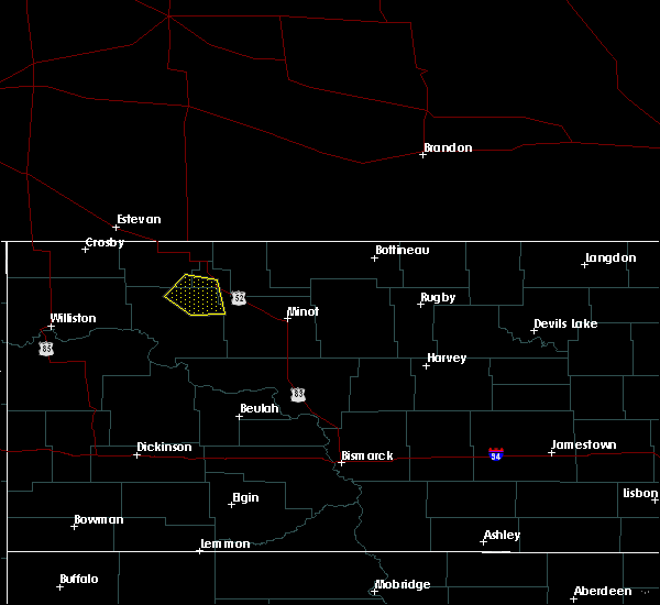 Radar Image for Severe Thunderstorms near Palermo, ND at 6/21/2015 4:26 PM CDT