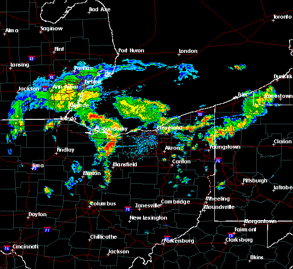 Radar Image for Severe Thunderstorms near Oberlin, OH at 8/6/2019 2:39 PM EDT