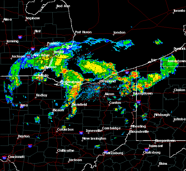 Radar Image for Severe Thunderstorms near Rochester, OH at 8/6/2019 3:00 PM EDT