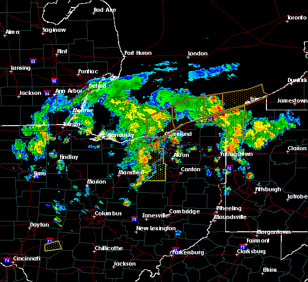 Radar Image for Severe Thunderstorms near North Kingsville, OH at 8/6/2019 3:24 PM EDT
