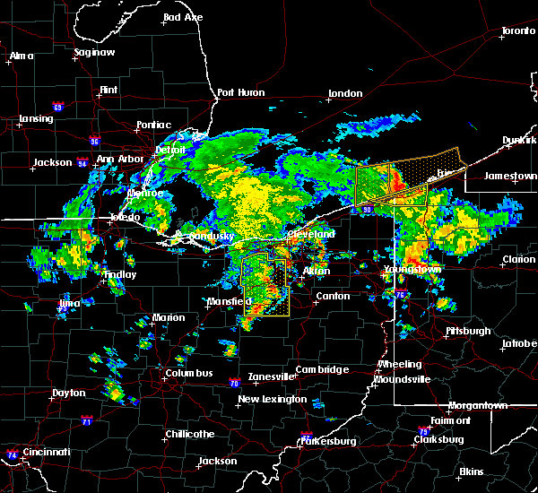 Radar Image for Severe Thunderstorms near Broadview Heights, OH at 8/6/2019 3:39 PM EDT