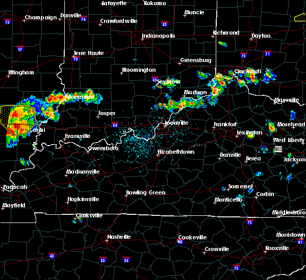 Radar Image for Severe Thunderstorms near Bedford, KY at 8/6/2019 4:27 PM EDT