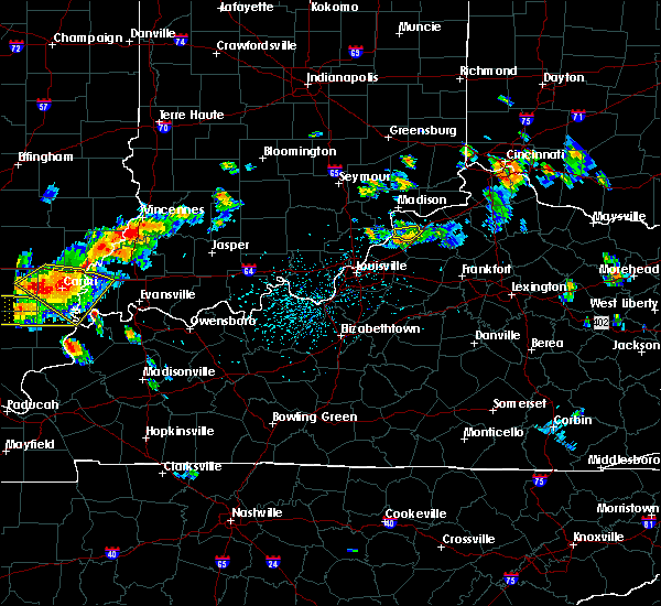 Radar Image for Severe Thunderstorms near Bedford, KY at 8/6/2019 4:59 PM EDT