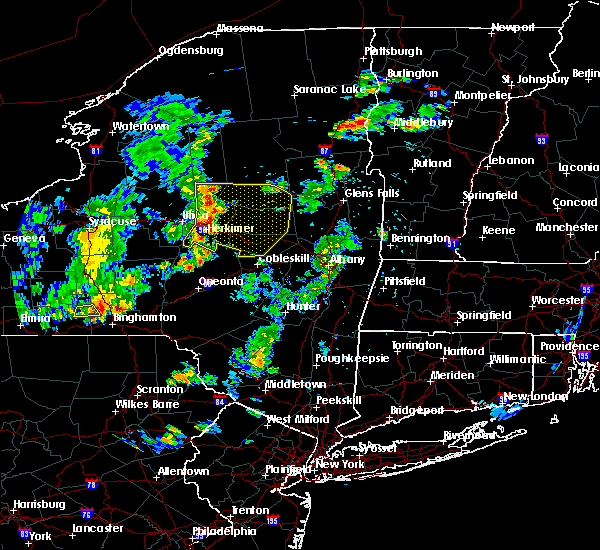Radar Image for Severe Thunderstorms near Frankfort, NY at 8/6/2019 5:19 PM EDT