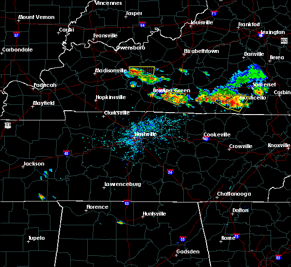 Radar Image for Severe Thunderstorms near Glasgow, KY at 6/21/2015 4:53 PM CDT