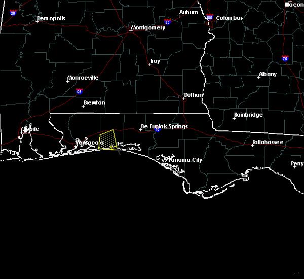 Radar Image for Severe Thunderstorms near Crestview, FL at 6/21/2015 4:54 PM CDT