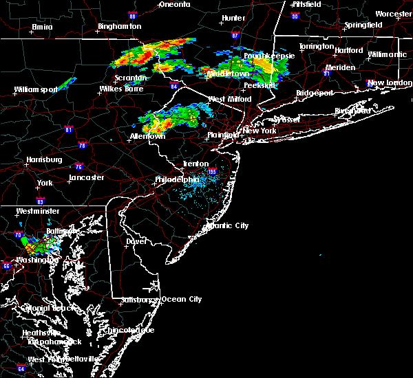 Radar Image for Severe Thunderstorms near Califon, NJ at 8/6/2019 8:24 PM EDT