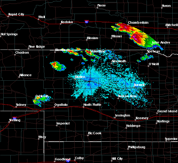 Radar Image for Severe Thunderstorms near Ainsworth, NE at 8/6/2019 9:47 PM CDT