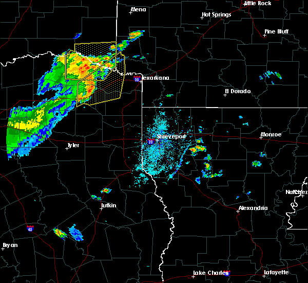 Radar Image for Severe Thunderstorms near Winthrop, AR at 6/21/2015 5:18 PM CDT