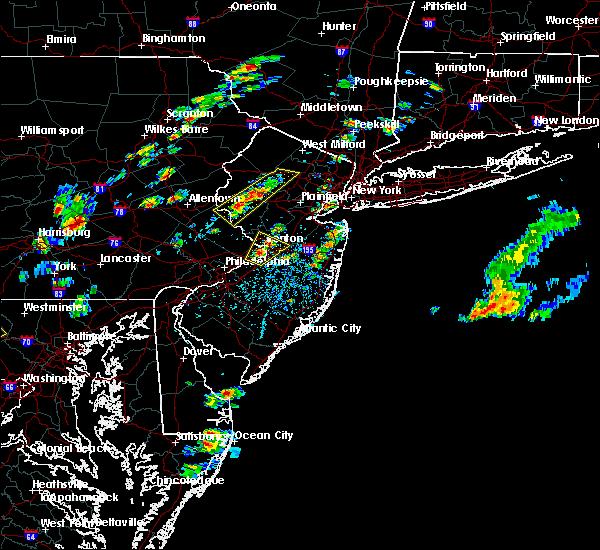 Radar Image for Severe Thunderstorms near Califon, NJ at 8/7/2019 1:33 PM EDT
