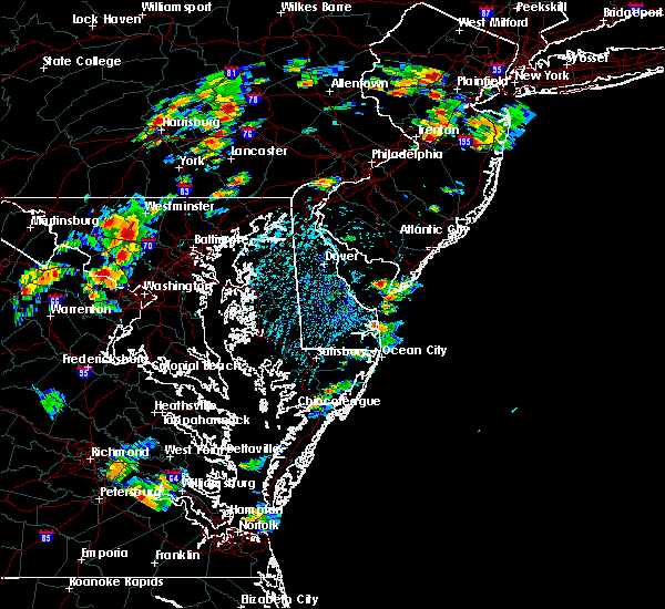 Radar Image for Severe Thunderstorms near Rio Grande, NJ at 8/7/2019 2:13 PM EDT