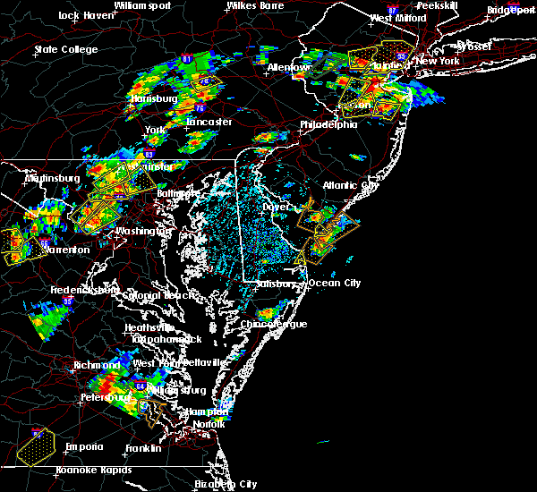 Radar Image for Severe Thunderstorms near Rio Grande, NJ at 8/7/2019 2:26 PM EDT