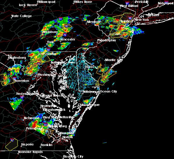 Radar Image for Severe Thunderstorms near Rio Grande, NJ at 8/7/2019 2:27 PM EDT