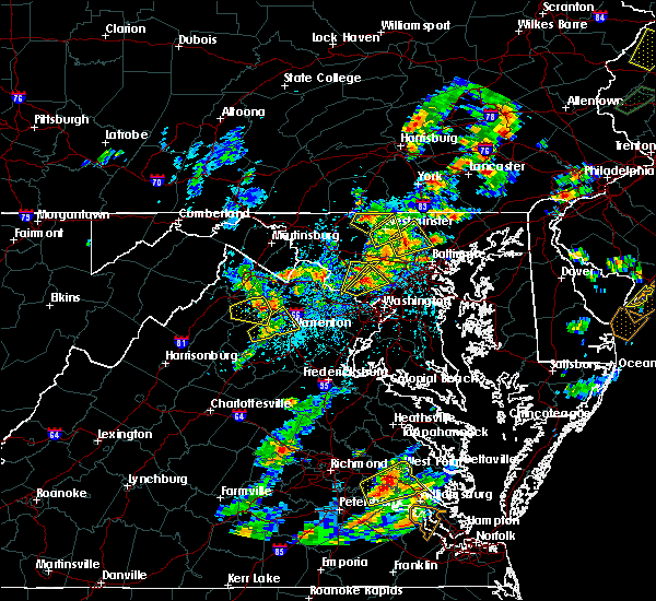 Radar Image for Severe Thunderstorms near Union Bridge, MD at 8/7/2019 2:40 PM EDT