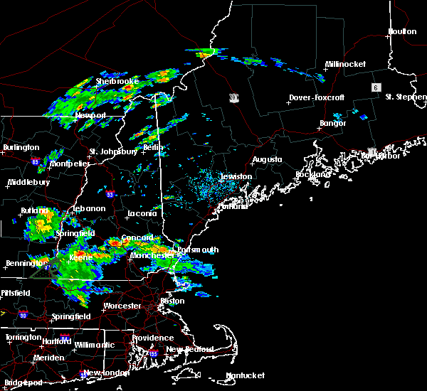 Radar Image for Severe Thunderstorms near South Eliot, ME at 8/7/2019 3:53 PM EDT