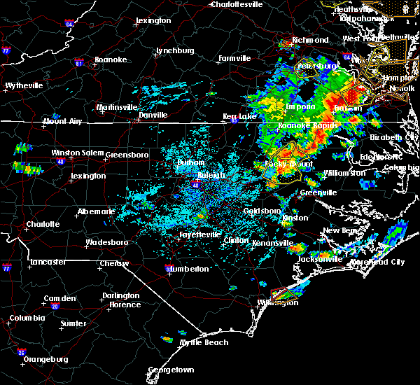 Radar Image for Severe Thunderstorms near Speed, NC at 8/7/2019 4:04 PM EDT