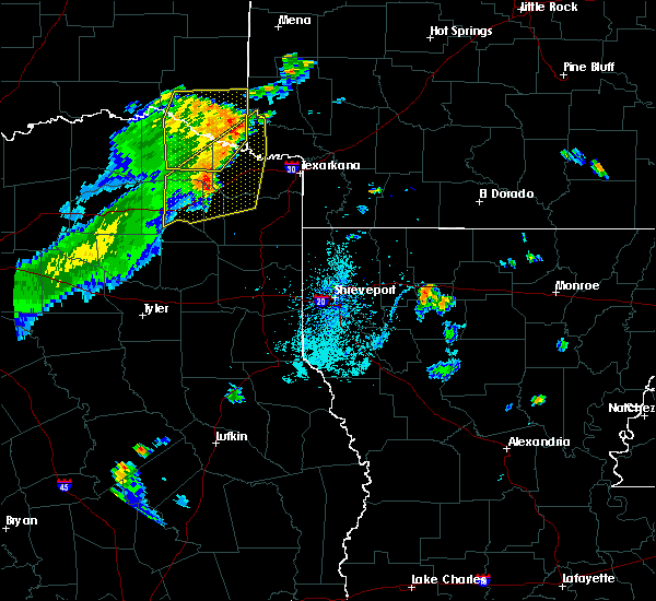 Radar Image for Severe Thunderstorms near Winthrop, AR at 6/21/2015 5:51 PM CDT